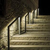 Stainless steel handrail / handicapped / LED