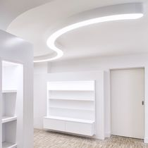 Surface mounted lighting profile / ceiling / LED / modular lighting system