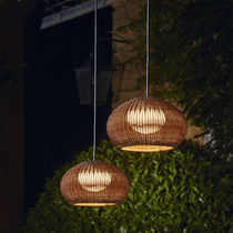 Pendant lamp / contemporary / synthetic fiber / polyethylene