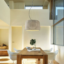 Pendant lamp / contemporary / cast iron / polyurethane