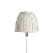 Floor-standing lamp / contemporary / synthetic fiber / outdoor