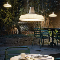 Pendant lamp / contemporary / polyethylene / outdoor