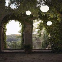 Pendant lamp / contemporary / glass / garden