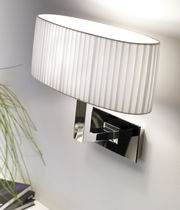 Contemporary wall light / cotton / incandescent / compact fluorescent