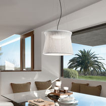 Pendant lamp / contemporary / aluminum / polyethylene