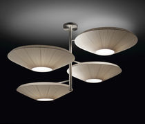 Pendant lamp / contemporary / polyester / methacrylate