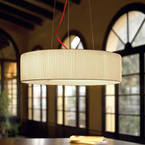 Pendant lamp / contemporary / cotton / polyester