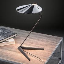 Table lamp / contemporary / aluminum / cast iron