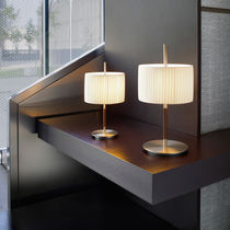 Table lamp / contemporary / cotton / iron