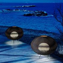 Floor lamp / contemporary / polyethylene / outdoor