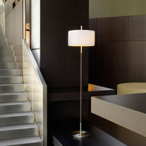 Floor-standing lamp / contemporary / cotton / iron
