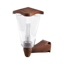 Traditional wall light / outdoor / aluminum / polycarbonate