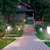 Garden bollard light / contemporary / aluminum / polycarbonate