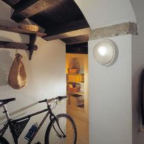 Contemporary wall light / outdoor / aluminum / polycarbonate