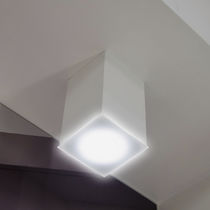 Surface mounted downlight / for outdoor use / round / square