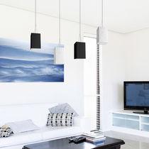 Pendant lamp / contemporary / concrete / brown