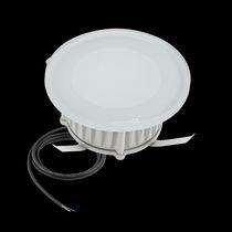 Recessed floor light fixture / LED / square / round