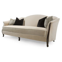 Traditional sofa / fabric / 2-seater