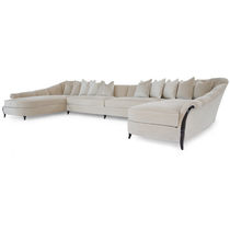 Modular sofa / traditional / fabric