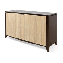 Contemporary sideboard / mahogany