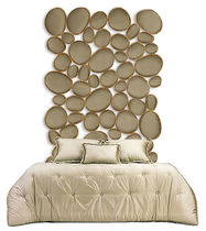 Double bed headboard / original design / fabric