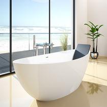 Free-standing bathtub / oval / acrylic