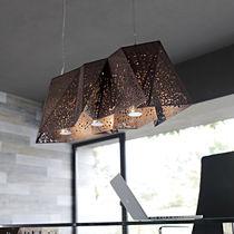 Pendant lamp / original design / walnut / LED