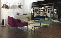 Floor-standing lamp / contemporary / fabric / steel