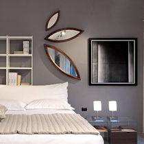 Wall-mounted mirror / original design / wooden