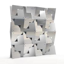 Metal sculpture / solid wood