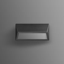 Contemporary wall light / outdoor / glass / polyester