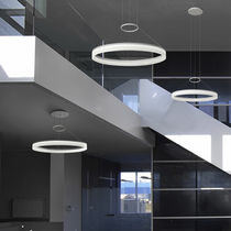 Pendant lamp / contemporary / methacrylate