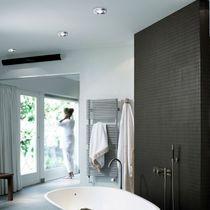 Contemporary ceiling light / glass / LED / bathroom