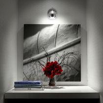 Wall-mounted spotlight / indoor / halogen / round