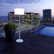 Floor-standing lamp / contemporary / outdoor