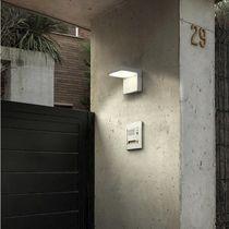 Contemporary wall light / garden / glass