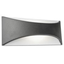 Contemporary wall light / outdoor / aluminum / polycarbonate