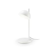 Table lamp / contemporary / aluminum / glass