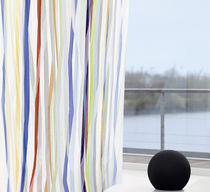 Upholstery fabric / striped / fire-rated / polyester