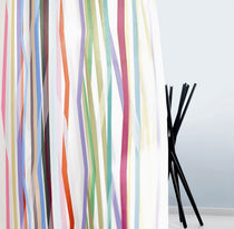 Upholstery fabric / striped / polyester / fire-rated