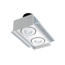 Built-in downlight / LED / square / rectangular