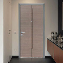 Wooden door panel / methacrylate