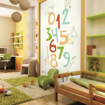 Contemporary wallpaper / washable / photo / child's