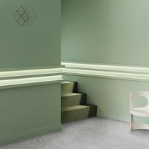 Polyurethane molding / square / interior