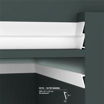High-density polystyrene baseboard