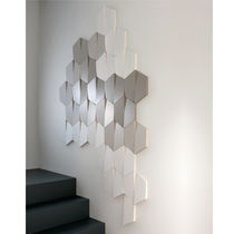 Decorative panel / polyurethane / wall-mounted / smooth