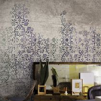 Contemporary wallpaper / floral pattern / non-woven / washable