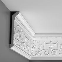 Polyurethane foam cornice / prefab / interior