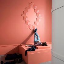 Polyurethane decorative panel / wall-mounted / fireproof / high-resistance