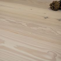 Engineered parquet flooring / nailed / floating / larch